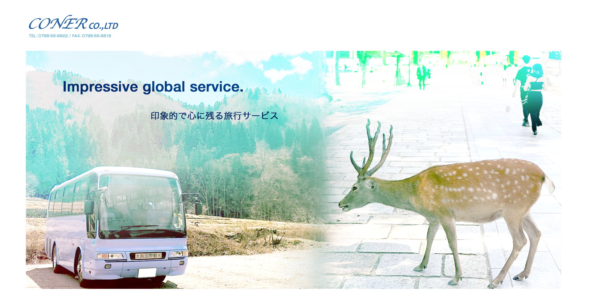 印象的なグローバルサービス